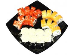 Набор суши и роллов «Великолепная тройка»