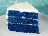 торт синий бархат